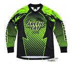 Arctic Cat 2014 Youth Arctic Cat Snowmobile & ATV Jersey - Green Black 5239-91_