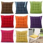Multicolor Home Decor Square Cushion Solid Pillow Case Car Seat Chair Mat new