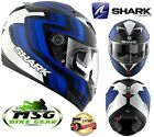 SHARK S900c FORET FULL FACE MOTORCYCLE MOTORBIKE SCOOTER HELMET KBW BLUE