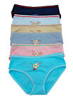 LOT 1 3 6 12 Lace Quality COTTON Spandex kids Girl Bikini Panty Underwear S/M