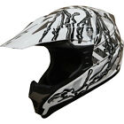 High Quality MOTOCROSS Helmet ATV Dirtbike DOT Helmet 151 Pearl White