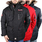 Geographical Norway Donnuts Herren Winter Jacke Parka Funktionsjacke Outdoor