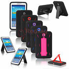 Hybrid Rugged Stand Hard Case Cover For Samsung Galaxy Tab3/4 7.0 P3200 SM-T230