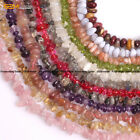 "Natural Stone Clips Beads For Jewelry Making 15"" 4-6x7-10mm Jewelry Beads"