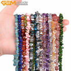 "6x8mm Natural Stone Chips Beads For Jewelry Making 15"" Wholesasle Loose Beads"