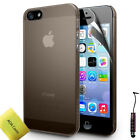 Ultra Thin Crystal Clear Hard Case Back Cover For Apple iPhone 5 5S
