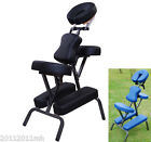 "New 3"" Padding Portable Massage Chair for Tattoo Spa with Free Carry Case"