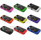 Hard Shock Proof Cover Case for iPhone 4 4S w Built-in Screen Protector in Black