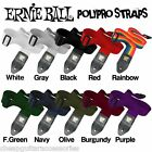 ERNIE BALL POLYPRO EXTRA LONG GUITAR STRAP - CHOICE OF COLOURS