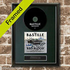 BASTILLE Bad Blood Album FRAMED Signed CD COVER MOUNTED A4 Autograph Repro (31)