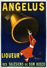 AV60 Vintage 1907 French Angelus Liqueur Drinks Advertisement Poster A1/A2/A3/A4