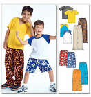 McCall's 4364 Sewing Pattern to MAKE  Boy's T Shirt & Trousers with Variations