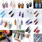 Natural Gems Healing Point Chakra Earrings Pendant Bead SP Necklace Jewelry Gift