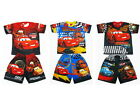 Cars Lightning McQueen Boy Outfit Set Polyester T-Shirt+Shorts Size 3-6 age 2-6