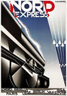 TX113 Vintage Nord Express Paris Berlin Riga Railway Travel Poster A1/A2/A3/A4
