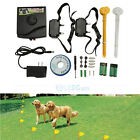 2016 Underground Electric Dog Fence Fencing System 2 Shock Collar Waterproof USA