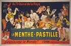 AZ21 Vintage 1900 Menthe-Pastille Liqueur French Advertising Poster A1/A2/A3/A4