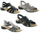 New Womens Ever So Soft Pewter Black Fashion Summer Sandals Shoes Size 3-8 UK