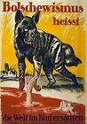 WA137 Vintage WW1 German Fight Against Bolshevism War Poster A1/A2/A3/A4