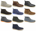 Jack & Jones GOBI Mens Suede Leather Lace-Up Casual Comfy Ankle Desert Boots New