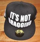 NWT New Era Muhammad Ali It's Not Bragging Fitted Hat 100% Wool ALL Sizes 59Fift