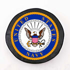 United States Navy USN Exact Fit Black Vinyl Spare Tire Cover by HBS Covers