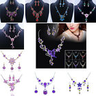 NEW Fashion Lady Wedding Party Alloy Acrylic Necklace Earring Sets elegant gift