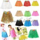 Hawaiian Hula Grass Straw Dancing Party Beach Adults Kids Luau Skirt Favor