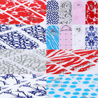 Nail Art DIY Decoration 3D Nail Stickers Rhinestones Crystal Decals Wraps Flower