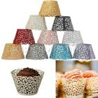12Pcs XMAS Cloud Hollow Out Cake Paper Wrap Cupcake Wrapper Wedding Decor