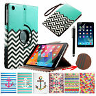 For Apple iPad Mini New 360 Rotating Magnetic PU Leather Case Smart Cover Stand