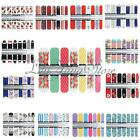 Trendy Heart Note Wraps Water Transfer Nail Art Tips Stickers Decal Foils Tips