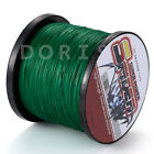 New 100M-1000M Moss Green  6LB-300LB Super Strong Dyneema Braid Sea Fishing Line
