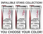 L'OREAL Infallible Lip Color/Stick STARS COLLECTION Discontinued *YOU CHOOSE*