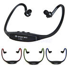 Wireless Earphones Headphones Sports MP3 Music Player For Gym Running Jogging