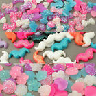 Bling Kawaii Decoden Crystal Resin Cabochon Moustache, Bows, Hearts & Flowers