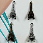 20 x Tower Eiffel Charms Tags / Brown Jewellery Making Findings Carfts