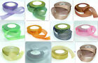 """1 roll 25 yard 1""""25mm Organza ribbon Gift Wrap Multi-Color for choose"""