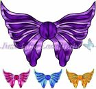 8x TRANSPARENT PRE-CUT ANGEL WING #3 for craft crystal suncatcher 3d  angels