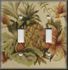 Metal Light Switch Plate Cover - Tropical Pineapple Decor Kitchen Fruit Decor