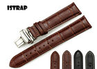 Croco Style Genuine Leather Watch Band Strap For Cartier 16mm 18mm 20mm 22mm