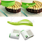 HOT Integrated Leaf Cake Cookie Cream Chocolate Cutter  Kitchen Pastry Tools