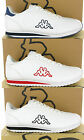 New Mens Kappa Cortinas White Plain Lace Up Fashion Casual Trainers Size 7-12