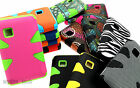 For LG 840G Hybrid Dynamic Case Hard Silicone Cover w/ Screen Protector