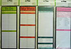 To Do, Don't Forget, My Week or Do your Chores Magnetic Memo Pad (50 Sheets),