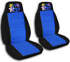 2 Front Flower Power Seat Covers 1998 to 2004 Volkswagen Beetle Choose Colors!
