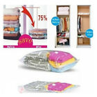 New Space Saver Saving Storage Vacuum Seal Compressed Organizer Bag