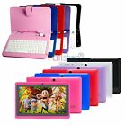Bluetooth 7 Android 4.2 A23 Dual Core Camera 4G 512M WiFi Tablet PC + Keyboard