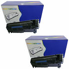 2 Black Compatible Laser Toner Cartridges for the HP CE285A / 85A Range