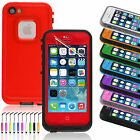 Waterproof Shockproof Heavy Duty Resistant Case Cover for iPhone 5/5S